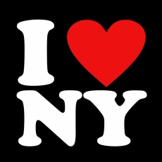 I LOVE NY T SHIRT BLACK